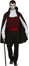 ADULT MENS GOTHIC DRACULA VAMPIRE - FANCY DRESS PARTY COSTUME (LARGE) V00 224