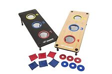 3 Hole Bean Bag Washer Toss Cornhole Game. Set Sports Backyard Tailgate Yard Kit
