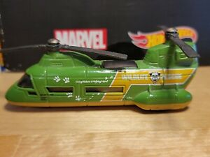 Matchbox Skybusters Transport Helicopter Die Cast Model Plane 2001