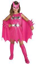 Morris Costumes Girls Batgirl Child Insignia Costume Pink Silver 4-6. RU882754SM