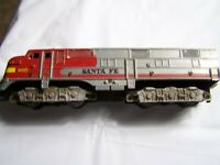 Tyco Santa Fe 1095 Locomotive HO Scale non powered as is