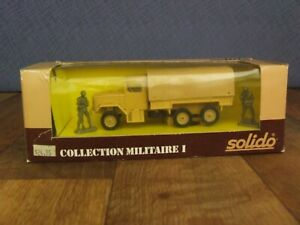 Solido Collection Militaire I # 6029 Kaiser Jeep Military Transport Truck