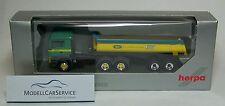 """Herpa Modèle spécial 1/87: 926010 MAN TGS M Benne Ronde - Semi-remorque """""""