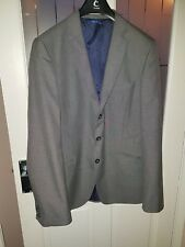 """Peter Werth Striped Suit Jacket/Charcoal - Medium '3' (38/40"""")"""