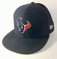 NEW ERA 59FIFTY HOUSTON TEXANS Navy Blue NFL Fitted Cap Hat