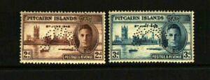 PITCAIRN ISLANDS 1946 VICTORY SPECIMEN SET MNH RARE