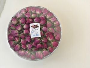 ROSE Flower Buds, NATURAL DRIED ROSE FLOWER 20g, NEW CROPS, GIFT BOX 🌹