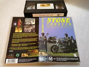 STONE FOREVER - 1999 Mega Rare Australian SIREN VISUAL VHS Issue CULT BIKIE DOCO