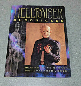 THE HELLRAISER CHRONICLES - CLIVE BARKER - 1ST EDITION 2004 SIGNED *RARE