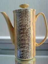 PRICE Kensington PHOENICIA Brown Textured Wood Effect Retro Coffee Pot - 9 ½ in