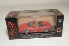 V 1:43 BANG 8033 FERRARI 355 GTS ROAD SPIDER RED BROWN INTERIOR MINT BOXED