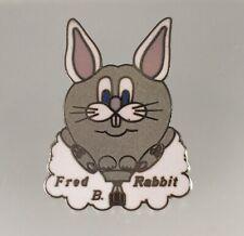 Fred B Rabbit Special Shape Hot Air Balloon Pin Lapel