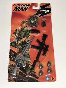Modern Action Man 1993 Hasbro Combat Kit Sealed