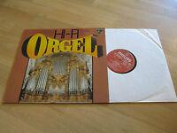 LP HI-FI Orgel Bach Liszt Widor Buxtehude Vinyl Schallplatte PHILIPS 349233