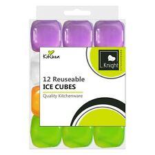 Confezione da 12 Riutilizzabile Ice Cubes Frozen in plastica silicone CONGELATORE refrigerato bevanda fredda
