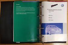 GENUINE VW GOLF  HANDBOOK OWNERS MANUAL WALLET 2004-2008 PACK A-378