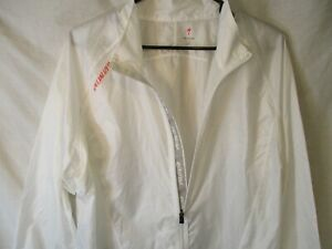 Classic XL White/Clear SPECIALIZED Long-Sleeve Lightweight Cycling Windbreaker