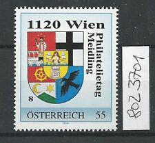 Österreich PM personalisierte Marke Philatelietag 1120 WIEN 8023701 **