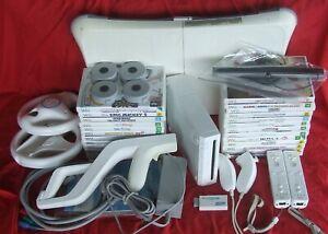 Wii Console & 25 Games Bundle