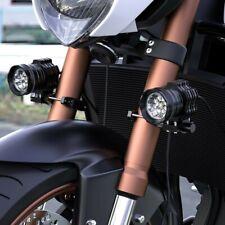 Universal Motorcycle Adjustable Led Headlight Mount Clamp Holder Fog Lights