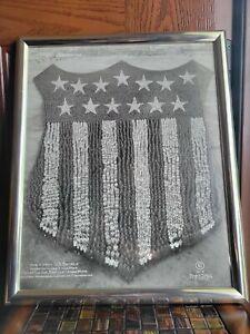 "Arthur Mole Photo ""The Human US Shield"" 1918 Camp Custer WWI Military Designer"