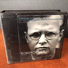 D Bonhoeffer Audio Book CD Set Pastor Martyr Prophet Spy Eric Metaxas Biography
