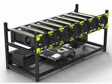 Veddha 8 GPU Stackable Open Air Mining Case Computer Frame Rig Bracket Ethereum