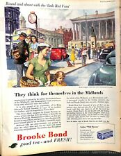 Original 1950s 'Brooke Bond' Advertisement from Picture Post November 1955