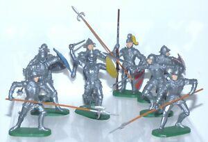 OS09 Elastolin plastic knights