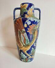 Ancien vase  faïence de  WASMUEL Belgique C/44