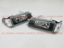 Headlights Headlamps for Toyota Corolla AE92 AE93 AE94 E90 EE90 sedan 89-92 #m8