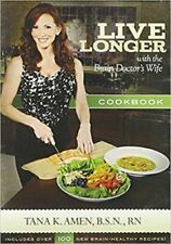 Live Longer with the Brain Doctor's Wife Cookbook CD by Tana K. Amen (2012, CD-…