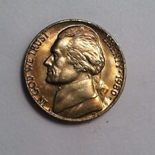 1980-P Jefferson Nickel CHOICE to GEM Mint State nicely toned