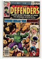 Defenders 68 VF/NM Marvel Comics Hulk CBX1G