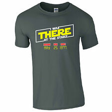 I Was There At The Start T-Shirt Star Wars 1977 Release Date Kids Mens Gift Top