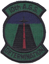 NATO 10th Alliance Ground Surveillance AGS Canada Subdued Embroidered Patch