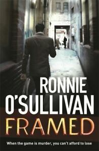 Framed by Ronnie O'Sullivan (Paperback / softback) Expertly Refurbished Product
