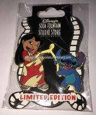 Disney Soda Fountain -Thanksgiving - Lilo & Stitch with a Wishbone - NEW