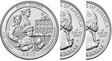 2017 P+D Ellis Island National Park (NJ) 2 Quarters Set  **Pre-sale*_*Pre-sale**