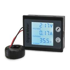 3in1 AC 260V 50A Amp Volt Power Energy Test Ammeter Voltmeter W/CT Multimeter