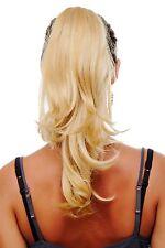 Postiche / Queue de Cheval Blondes Halblanges Épingle à Cheveux-Papillon