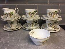 Vintage Adderley Fine Bone China Tea Set .