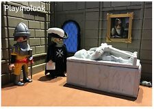 SARCOPHAGUS KNIGHT MEDIEVAL CUSTOM PLAYMOBIL FIGURES DOESN'T INCLUDED
