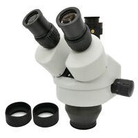 7X-45X Trinocular Zoom Stereo Microscope Head with 0.5X C-Mount Lens
