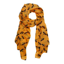 Gorgeous Yellow BABETTE BEE Printed Neck Scarf by Erstwilder * LARGE