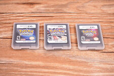 3 pcs Nintendo Pokemon Platinum Diamond Pearl version game card for DS NDSI DSI