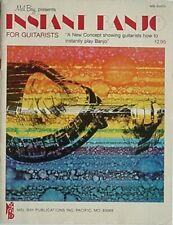 INSTANT BANJO FOR GUITARISTS, 1977 BOOK