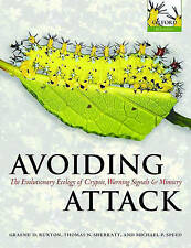 Avoiding Attack: The Evolutionary Ecology of Crypsis, Warning Signals-ExLibrary