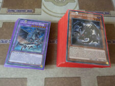 Yu-Gi-Oh! - Deck Yeux rouges COMPLET 75 cartes + Sleeves + Bonus