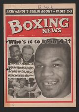 Boxing News Weekly Fight Newspaper Twenty Issus 1980/90